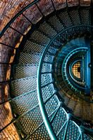 The Winding Staircase of Currituck Beach Lighthouse