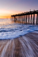 Kitty Hawk Pier at dawn; Kitty Hawk, NC