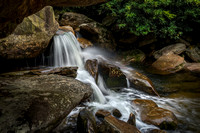 A gorgeous waterfall along the West Fork Pigeon River