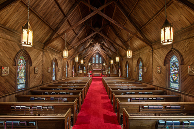 St. Luke's Episcopal Church in Lincolnton, NC